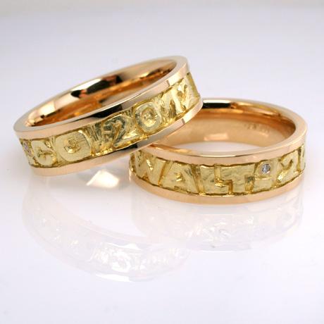 Eheringe Trauringe Partnerringe in Gold individuell hergestellt ...