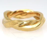 Partnerring Gelbgold 750 Nr. 5202