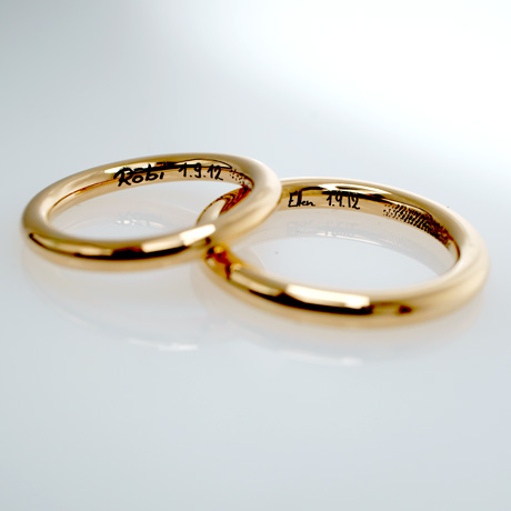 Cartier Eheringe christian bauer wedding rings 14 carat white